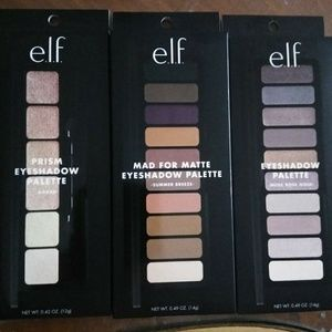 Brand new elf eyeshadow palette bundle